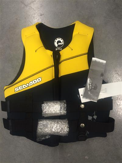 Seadoo Type 2 PFD Ladies Size 8 Yellow