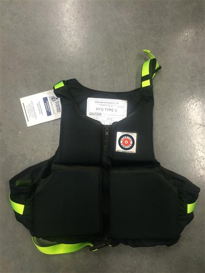 Roaring Forties PFD Type 2 Black 60kg
