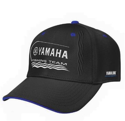 YAM.FISHING TEAM CAP BK ADULT