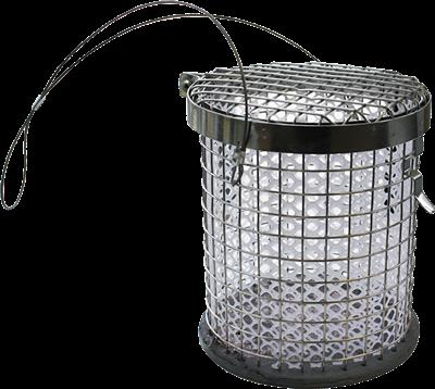 STAINLESS STEEL BERLEY POT - SMALL