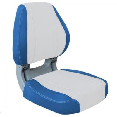 SIROCCO FOLDING SEAT - BLUE/WHITE