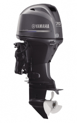 70 hp Yamaha 4 Stroke Electric Start Power Trim 20