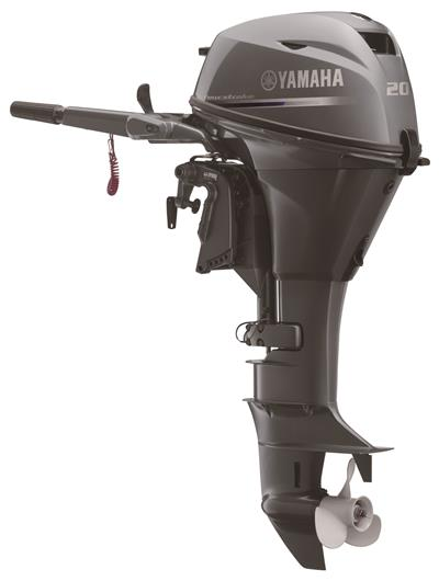 20 hp Yamaha 4 stroke Electric Start Tiller Power Tilt