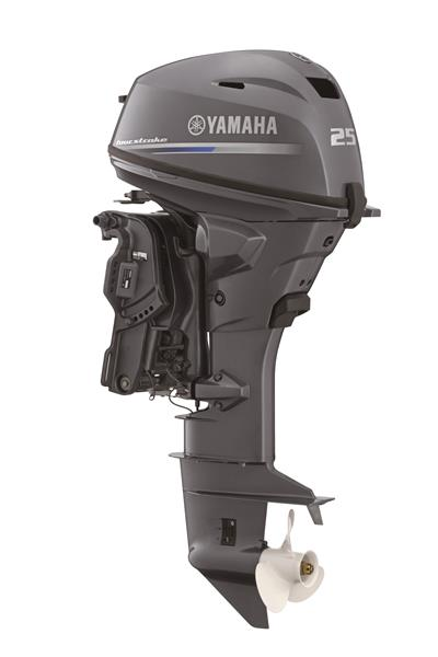 25hp Yamaha 4 Stroke Remote / Tiller Option, Electric Star, Power Trim and Tilt 20
