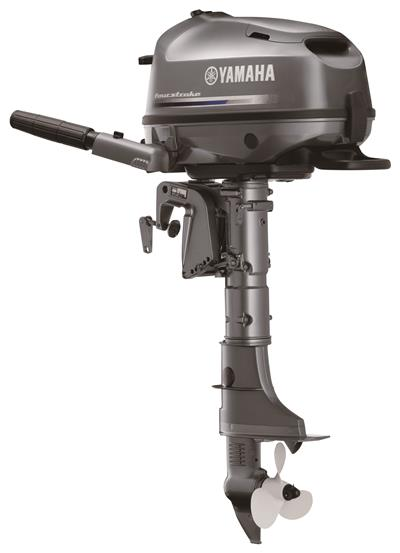6 hp Yamaha 4 Stroke Manual Start Tiller Standard