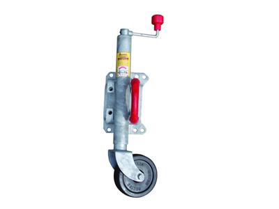 Galvanized Wind-Up & Swing-Up Jockey Wheel 6